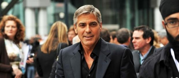 George Clooney helped raise funds for hurricane victims. [Image via Michael Vlasaty/Wikimedia]