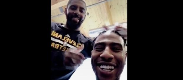 Image via Youtube channel: Basketball&More #ImanShumpert #KyrieIrving