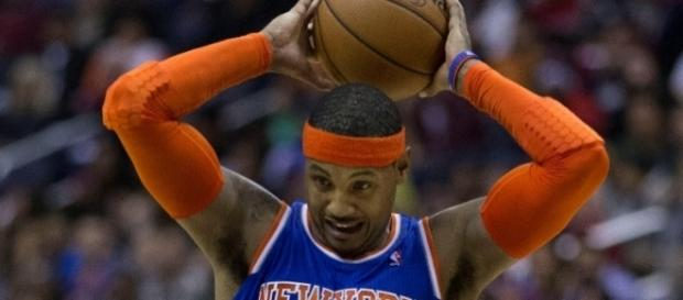 Last season, ESPN placed Carmelo Anthony at No. 31 in the NBA player rankings -- Keith Allison via WikiCommons