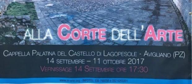 Mostra Collettiva Alla corte dell'Arte presso il Castello di Lagopesole