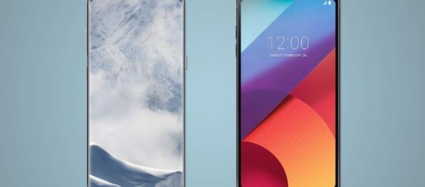 Samsung Galaxy S8 and S8+ vs. LG G6 - newatlas.com