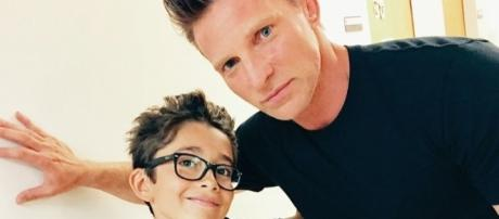 Spencer Cassadine and Jason Morgan. Twitter.com Nicholas Bechtel.