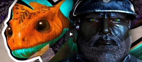 The lizard-looking creature in 'ARK:Survival Evolved.' - YouTube/ThickFreedom