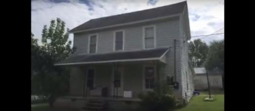 208 Back Street, Randleman, NC, where little girl was rescued from a closet. (Image from Breaking News In The World/Youtube)