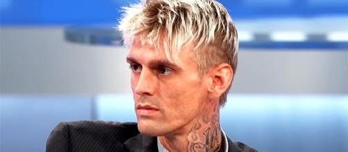 Aaron Carter has been advised to enter rehab to help deal with his drug issues. (YouTube/The Doctors)
