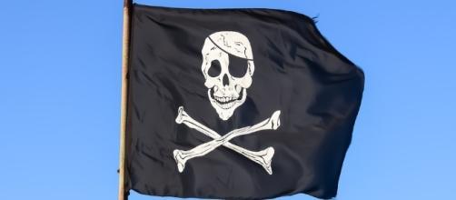 Bandiera dei pirati, anche simbolo della pirateria musicale.