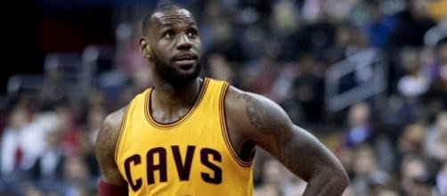 LeBron James can decline the $35.6 million player option in his deal after this season -- Keith Allison via WikiCommons