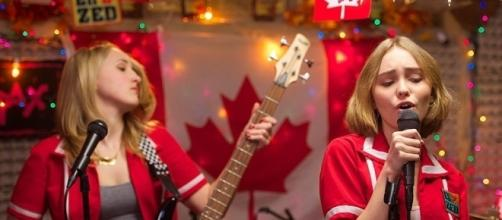 Lily-Rose Depp in Yoga Hosers: Watch Actress Sing Styx's 'Babe' - people.com