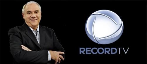 Marcelo Rezende é um dos principais nomes da RecordTV