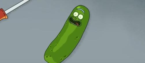 Pickle Rick by Adult Swim - YouTube Screengrab