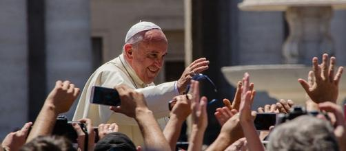 Pope Francis credits:wikipedia https://commons.wikimedia.org/wiki/File:Pope_Francis_Photo_1.jpg