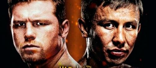 Promotional poster for Canelo vs. Golovkin - Poster/ free for use