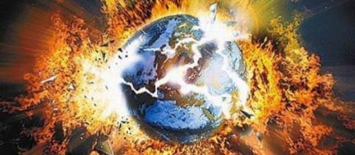 Recreación de la Tierra destruida por Nibiru | Créditos: Metro Ecuador - com.ec