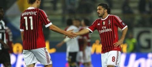 Rino Gattuso aveva lasciato il Milan nel 2012 e ora è tornato...