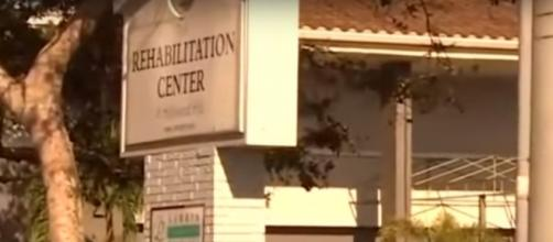 Signage of Hollywood Hills nursing facility in Florida. (Image from Inside Edition/Youtube)