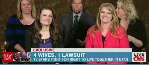 'Sister Wives' family from a screenshot