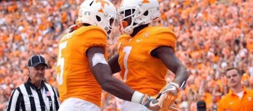 Tennessee tries to make it 3-0 as they visit the Florida Gators on Saturday. [Image via CBS Sports/YouTube]