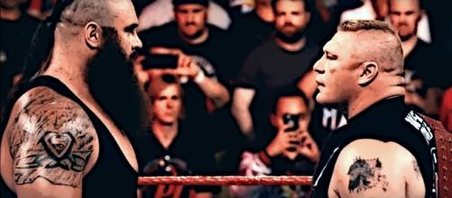 The Beast will face the Monster among men at No Mercy - Image courtesy: Youtube/GTS Edit wrestling