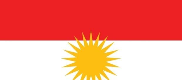 Bandiera del Kurdistan indipendente