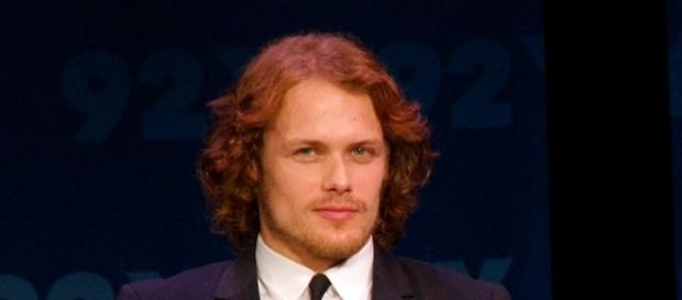 "Sam Heughan plays the role of Jamie Fraser on ""Outlander."" Photo by Christine Ring via Wikimedia Commons"