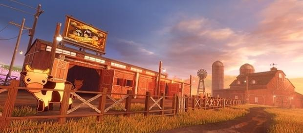 """The Farmstead arena is just one of the many new content arriving to """"Rocket League"""" with the Autumn update. (Psyonix)"""