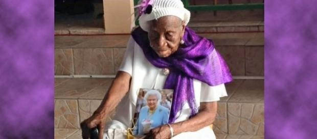 The world's oldest person, Violet Mosse Brown, has died at 117 [Image: YouTube/christiana link]