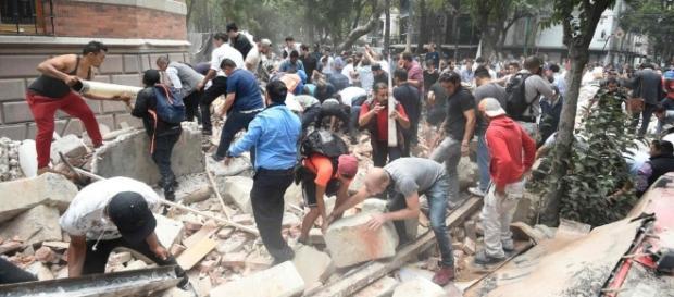 Un temblor de 7.1 afectó a la Ciudad de México.