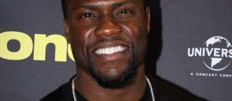 Actor and comedian, Kevin Hart via Wikipedia