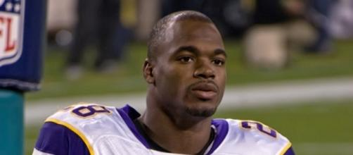 Adrian Peterson signed a two-year deal worth $7 million with the Saints -- Mike Morbeck via WikiCommons