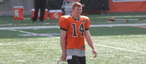 Andy Dalton and the Cincinnati Bengals haven't scored a touchdown this season. -- Flickr via Navin75