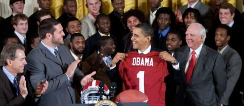 Bama is good, but not always the best. The White House via Wikimedia Commons