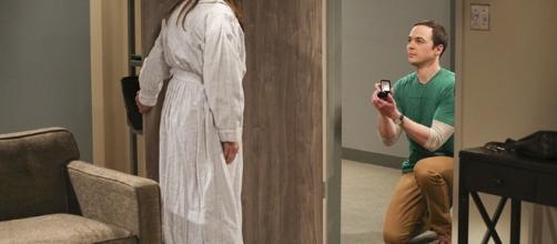 Big Bang Theory' Season 10 Finale: Sheldon's Proposal Explained ...[Image via CBS]