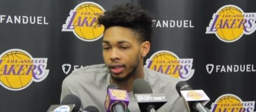 Brandon Ingram is working hard to justify Magic Johnson's remarks -- Lakers Nation via YouTube