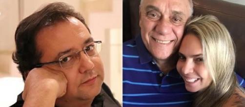 Geraldo se une a Luciana Lacerda depois da morte de Marcelo Rezende