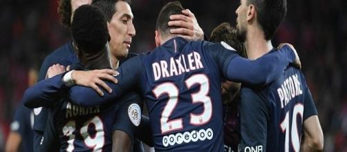 Julian Draxler con la maglia del Psg