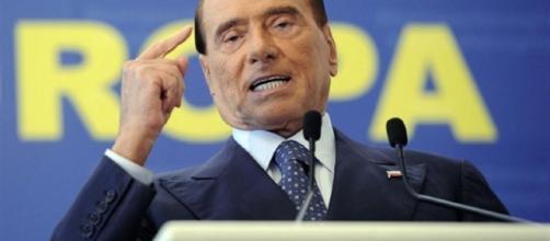 L'ex presidente Berlusconi alla convetion azzurra di Forza Italia (foto: internet)
