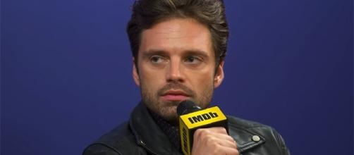 "Sebastian Stan will play the Winter Soldier for the fourth time in next year's ""Avengers: Infinity War."" (YouTube/IMDB)"