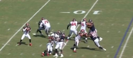 Tampa Bay's Jameis Winston led the Buccaneers to victory over the Bears on Sunday. [Image via NFL/YouTube]