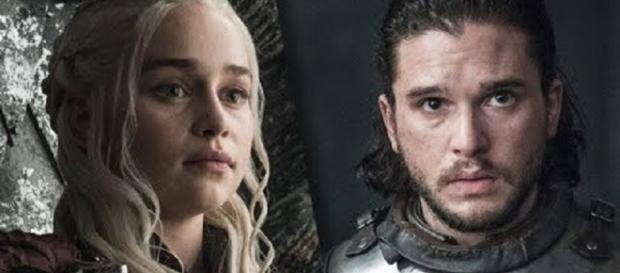 Dany, Jon Snow in 'Game of Thrones' - Image via YouTube/Jon Snow