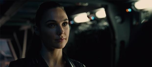 """Gal Gadot reprises her role as Diana Prince in """"Justice League,"""" opening this November. (YouTube/Warner Bros.)"""