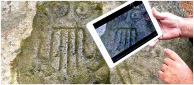 Tecnologia de ponta na arqueologia.