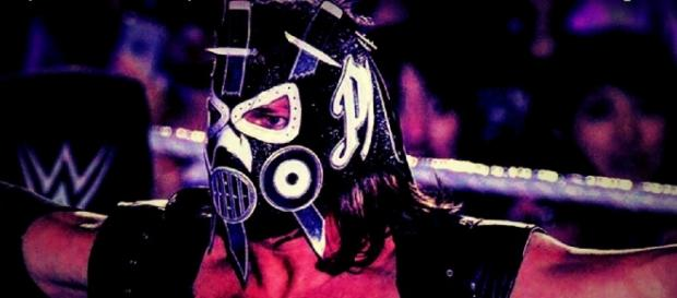 The Phenomenal AJ styles had a completely new face mask in a recent WWE live event Courtesy: Youtube/Heel by Nature