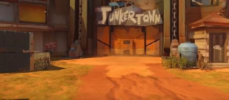 Overwatch Junkertown map - YouTube/PlayOverwatch Channel