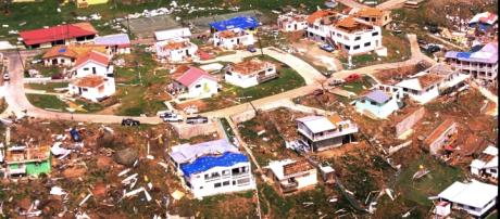 The devastation of British Territories. FEMA