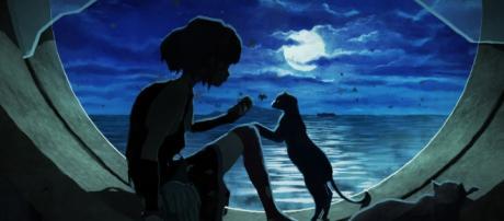Un'immagine del film Gatta Cenerentola