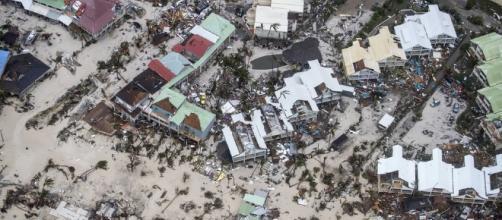 Après le passage d'Irma, Saint-Martin vu du ciel - parismatch.com