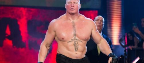 Brock Lesnar, the WWE Universal champion (Wikimedia Commons/RayTerston)