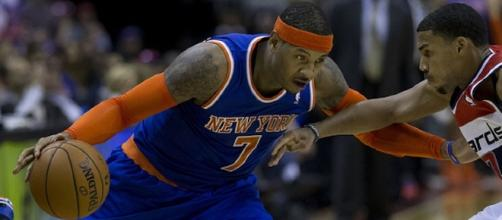 Carmelo Anthony to Rockets/ Photo via Keith Allison, Flickr