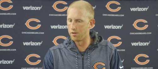 Chicago Bears quarterback talks struggles [Image via Chicago Bears/YouTube]