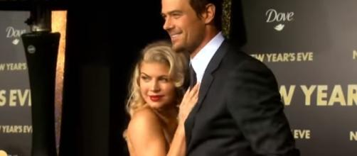 Fergie and Josh Duhamel in an undated photo - YouTube/Entertainment Tonight